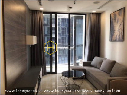 So bright and airy is this apartment! Located right in Vinhomes Golden River for rent