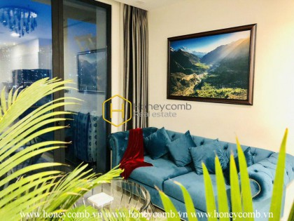 1 bedroom apartment with the combination of classic and modern in Vinhomes Golden River