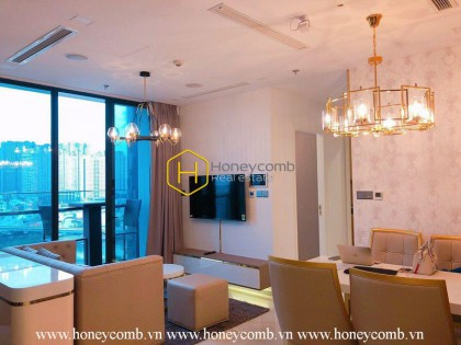 Awesome ! The 2 bedrooms-apartment is so wonderful in Vinhomes Golden River
