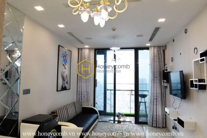 The cozy and modern 1 bed apartment in Vinhomes Golden River