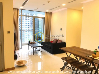 An open living space peaceful situated in Vinhomes Central Park