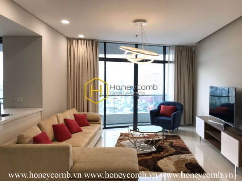 Delicate 2 beds apartment  in City Garden for rent