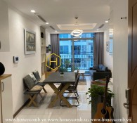 Explore elegant feelings in this luxurious apartment in Vinhomes Central Park for rent