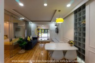 This glaming serviced apartment in District 2 will steal your heart