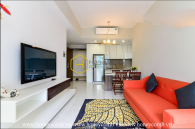 The 2 bedroom-apartment is so lovely and outstanding at Masteri An Phu