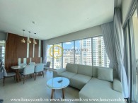 Open your view with this spacious Diamond Island apartment