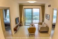 Căn hộ 2 phòng ngủ với thiêt kế màu sắc ấn tượng cho thuê tại Gateway Thảo Điền
