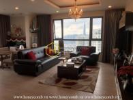 Cho thuê căn Penthouse sang trọng với phong cách tinh tế này tại Masteri Thảo Điền