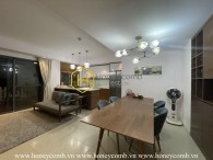 No words can describe the gorgeous beauty of this duplex apartment in Masteri Thao Dien