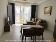 Căn hộ 2 phòng ngủ nội thất đầy đủ tại Tropic Garden cho thuê