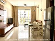 Bạn nghĩ gì về căn hộ 2 phòng ngủ đầy ấm cúng cho thuê này tại Tropic Garden?