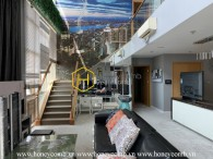 Dreamy penthouse with panonamic city view and classical interiors for rent in The Vista