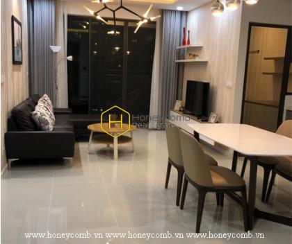 Magnificent design with logic arrangement in Estella Heights apartment