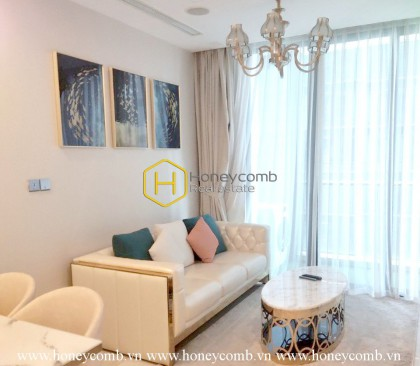 Classical yet convenient in this Vinhomes Golden River apartment