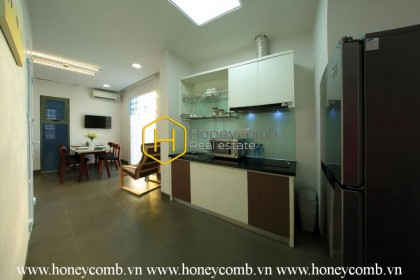 Modern style with full furnished compound apartment for rent in District 2