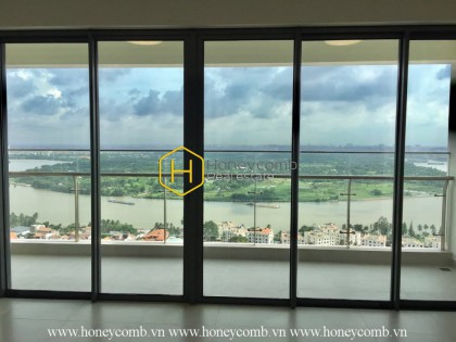 Stunning unfurnished apartment with bright tone in Gateway Thao Dien