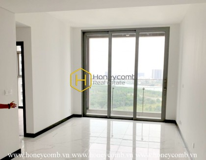 A whole new unfurnished apartment in Empire City is waiting for you to be beautified