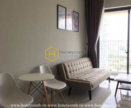 Fully-furnished apartment with stunning elegant appearance for rent in Masteri An Phu