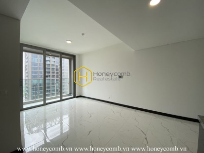 The unfurnished apartment with nice view for you to explore your creativy in Empire City