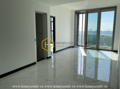 Unfurnished apartment with pure white layout will make you impressed in Empire City