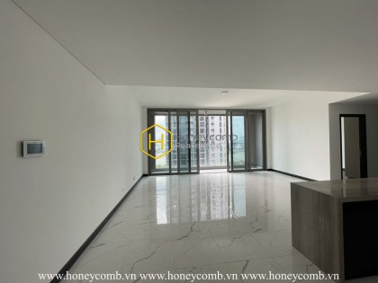 Brand new apartment is waiting for you to decorate at Empire City