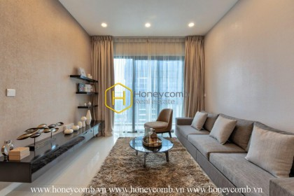 Beautiful floral decorated 2-beds apartment in The Estella Heights for rent