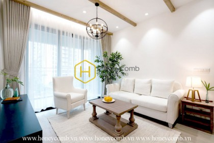 An enchanting apartment in typical modern Asian design at Estella Heights