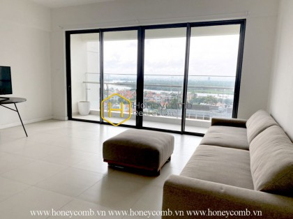 No more needs when having such a spacious and sun-filled Gateway Thao Dien apartment like this