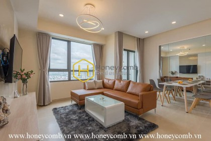 Masteri Thao Dien 2 beds apartment with open kitchen and high floor