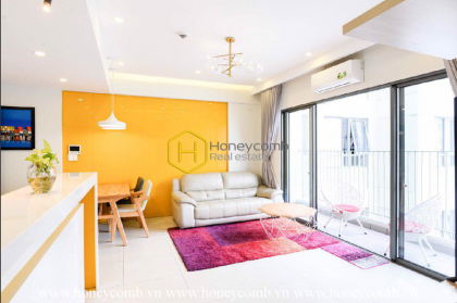 Lush contemporary 2 beds apartment with nice view in Masteri Thao Dien