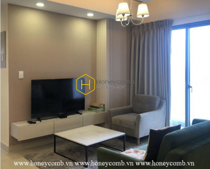 This apartment in Masteri Thao Dien is what you are looking for: COZINESS, ELEGANCE, CHARMING VIEW