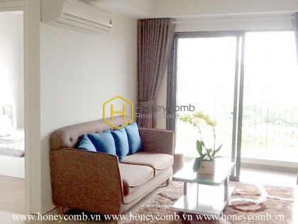 An enchanting apartment in typical modern Asian design at Masteri Thao Dien