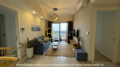 Two bedrooms apartment with river view and new furniture in Masteri Thao Dien for rent