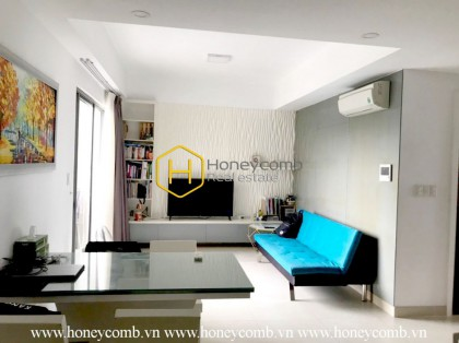 Two bedrooms apartment at low floor in Masteri Thao Dien for rent