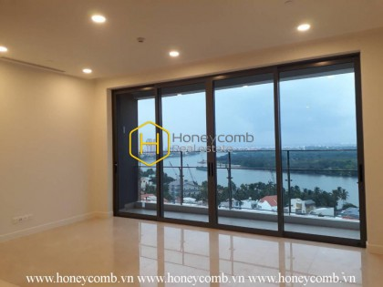 Unfurnished apartment with prestigous location is await for you in Nassim Thao Dien