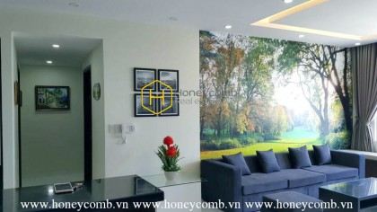 Tropic Garden 3 beds apartment with nice view for rent