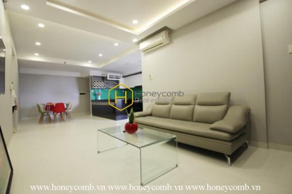 A spacious apartment with an airy view in Tropic Garden is for rent