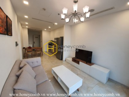 High-end apartment in Vinhomes Golden River with elegant color tones
