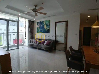 A cozy apartment with delicate decoration that everyone is seeking in Vinhomes Central Park