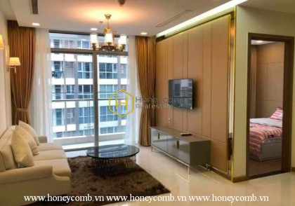 Experience a new lifestyle in this fully furnished apartment in Vinhomes Central Park