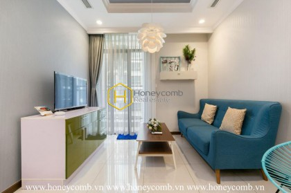 Suprised with the perfect refinement of this apartment in Vinhomes Central Park