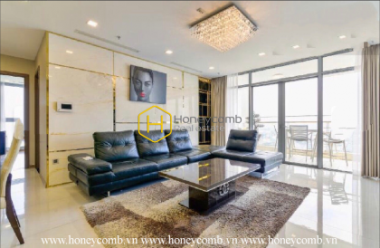 Such a luxurious apartment that you deserve to have in your life time! It is available in Vinhomes Central Park !