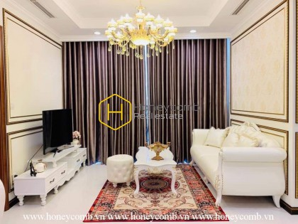 You will be surprised by the meticulous and delicate design in the apartment Vinhomes Central Park