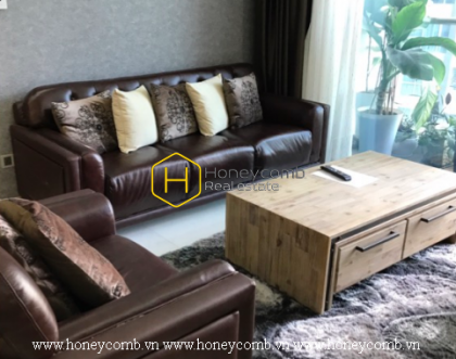 Innovative design and smart interior only available in the Vinhomes Central Park apartment