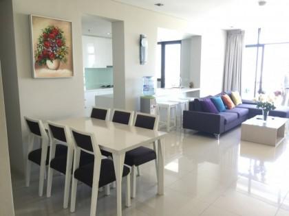 High floor 3 beds apartment for rent in City Garden