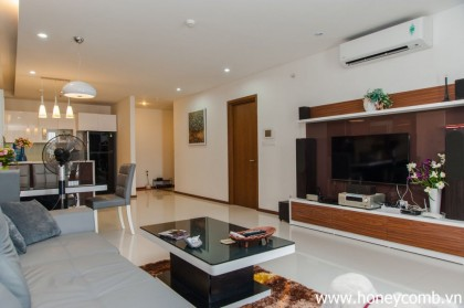 3 beds apartment for rent in Thao Dien Pearl, nice view