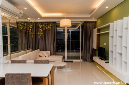 Beautiful Decor for 2 bedrooms apartment for rent in Thao Dien Pearl