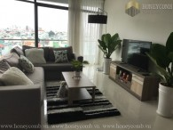 Two beds apartment design modern in City Garden for rent