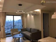 Two beds apartment city view in Masteri for rent
