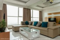 Two bedroom apartment Luxury interior design in Thao Dien Pearl for rent